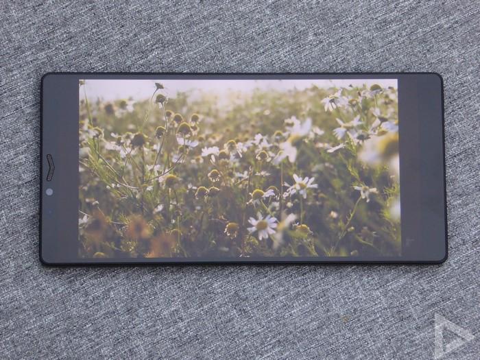 Carbon 1 MK II beeldscherm