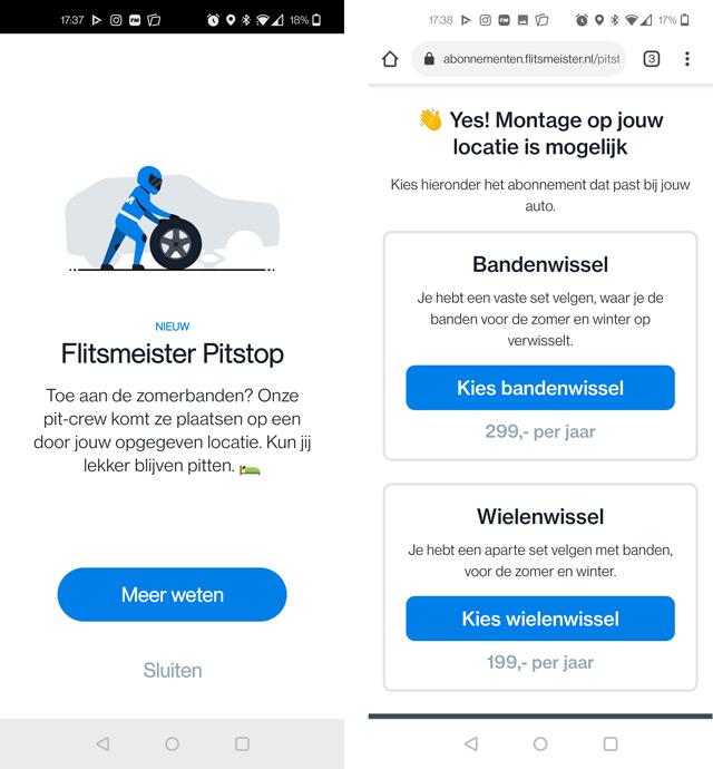 Flitsmeister Pitstop