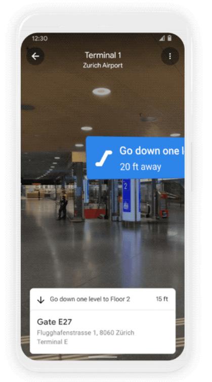 Indoor Live View Google Maps