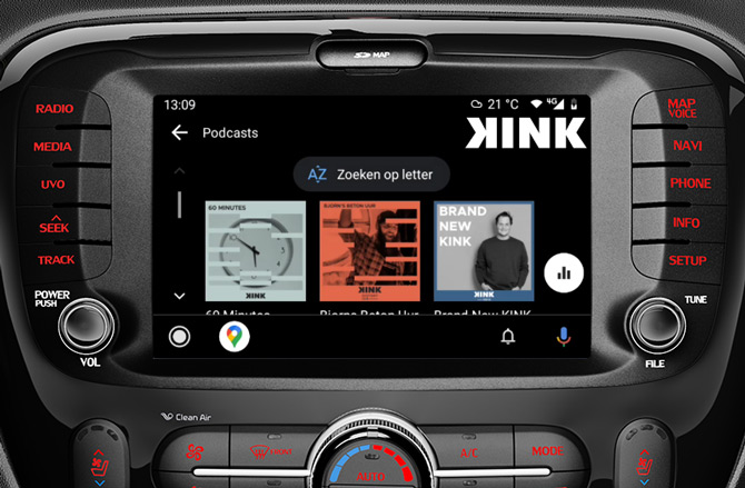 KINK Android Auto