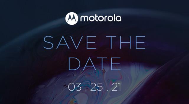 Motorola 25 maart aankondiging