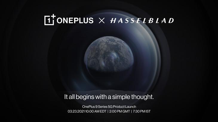 OnePlus 9 Hasselblad 23 maart