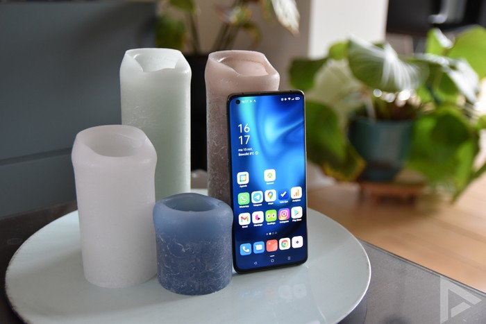 Oppo Find X3 Pro voorkant