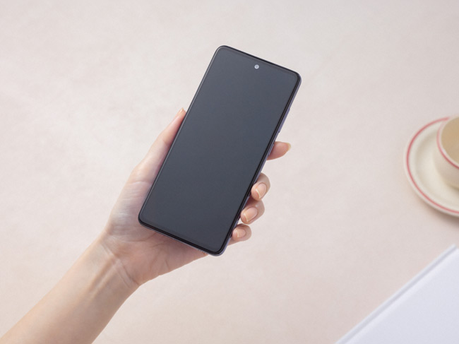 Samsung Galaxy A52 voorkant