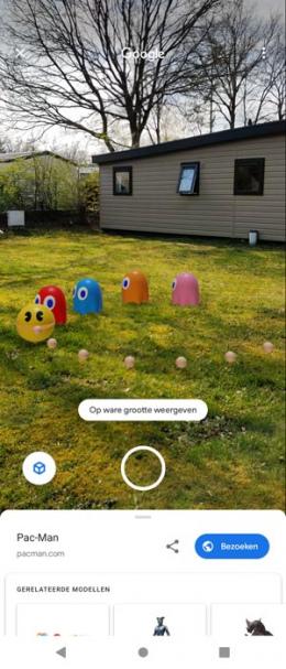 Google Ar Pac Man