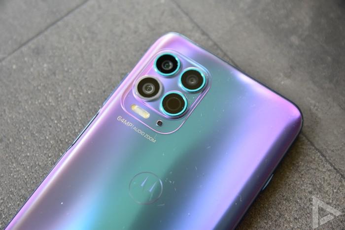 Moto G100 camera
