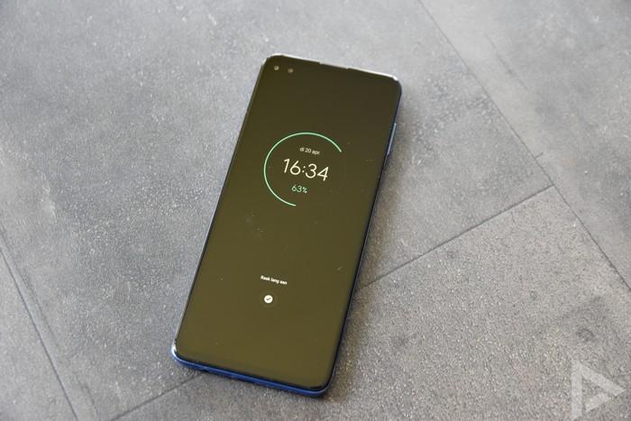 Moto G100 vergrendelscherm