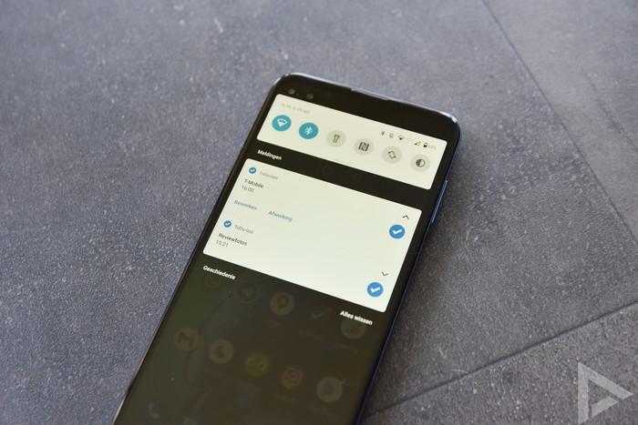 Moto G100 notificaties