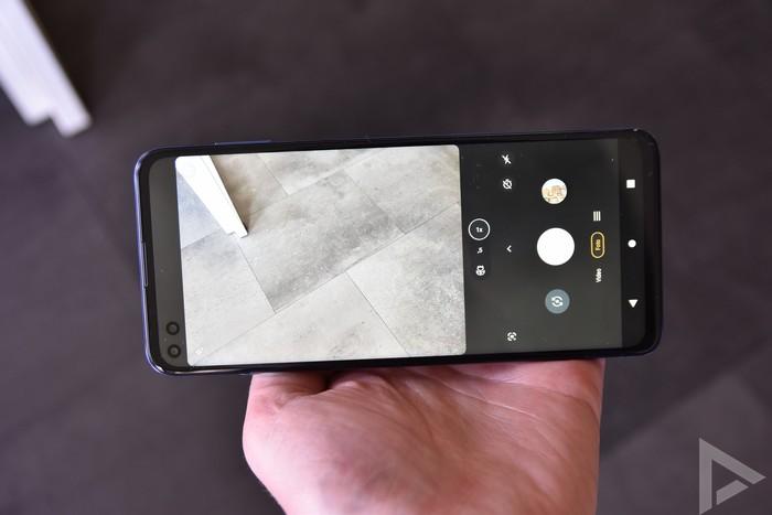 Moto G100 camera-app