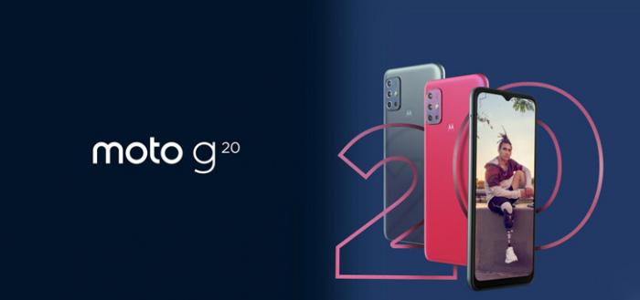 Moto G20 aangekondigd: 90Hz scherm en 5000 mAh accu voor nette prijs