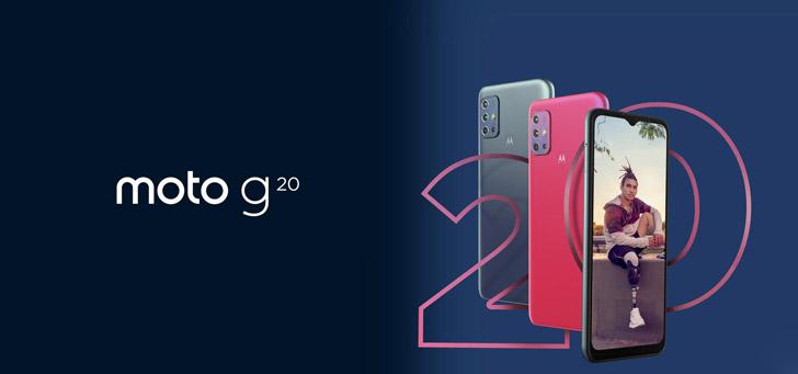 Motorola brengt ook Moto G20 uit in ons land: betaalbaar en flinke accu