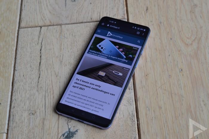 OnePlus 9 internet