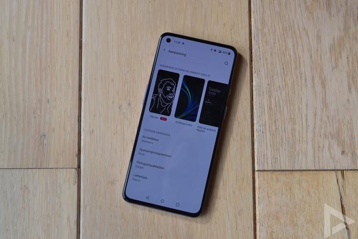 OnePlus 9 Always On Display