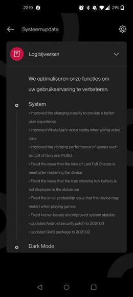 OnePlus 9 Pro OxygenOS 11.2.2.2