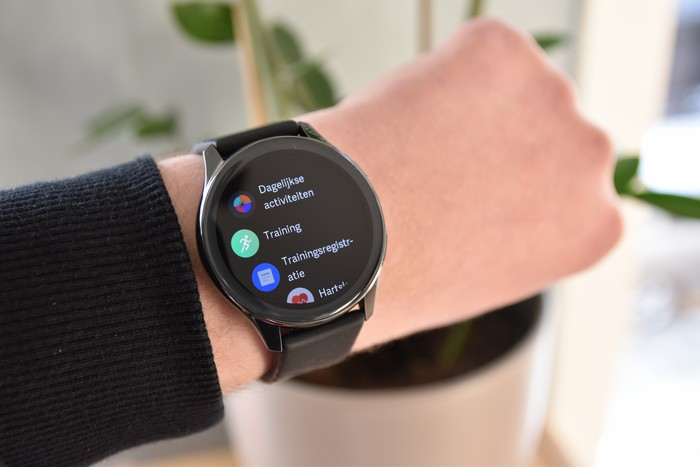 OnePlus Watch menu