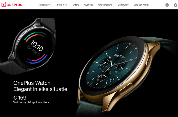 OnePlus Watch 26 april