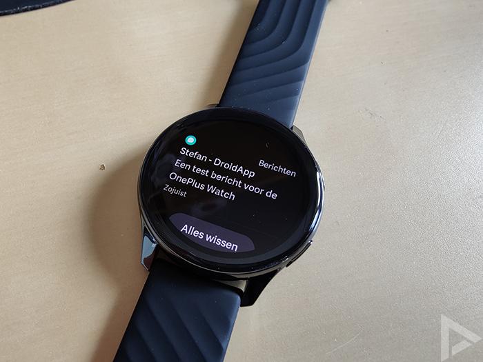 OnePlus Watch notificatie