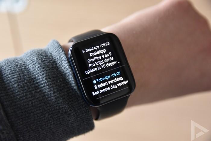 Oppo Watch notificaties