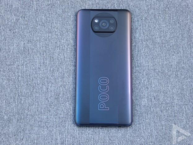Poco X3 Pro achterkant
