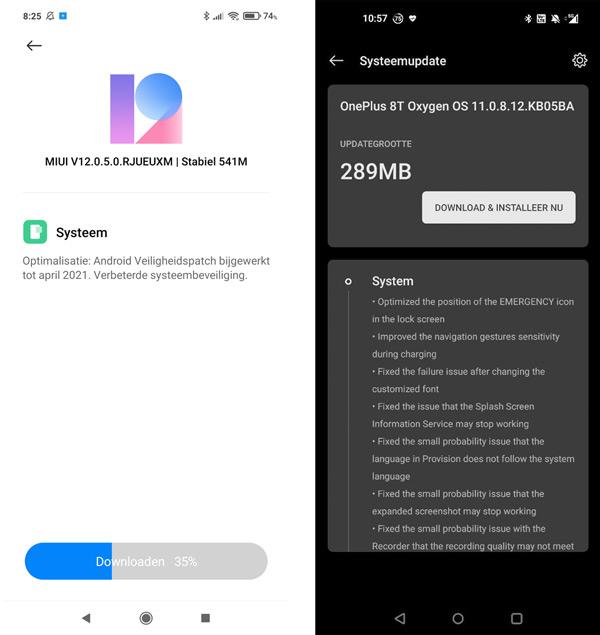 Poco X3 Pro OnePlus 8T UPDATe