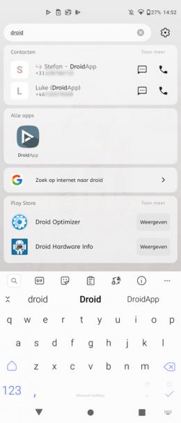 Smart Launcher 5 Smart Search
