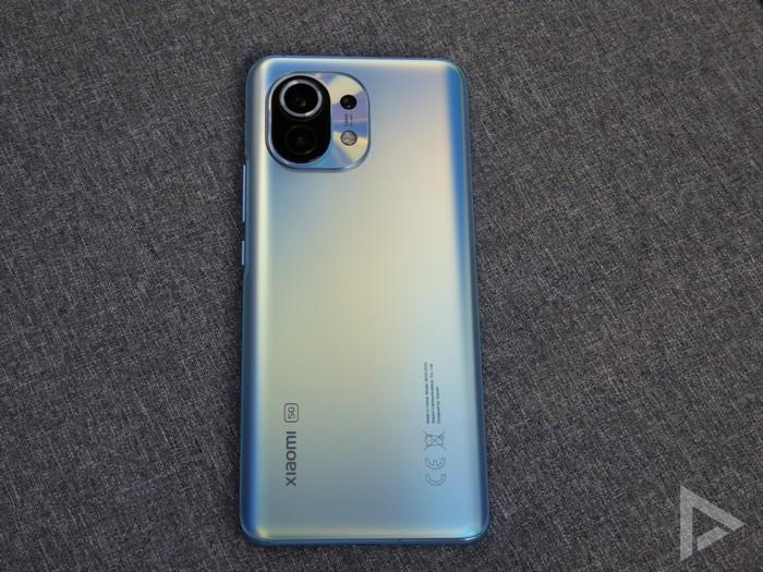 Xiaomi Mi 11 achterkant