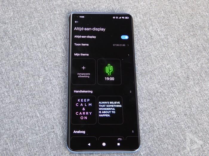 Xiaomi Mi 11 Always On Display 2