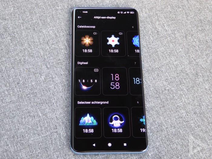 Xiaomi Mi 11 Always On Display