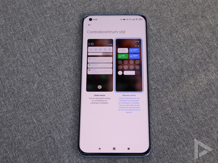 Xiaomi Mi 11 notificatiescherm