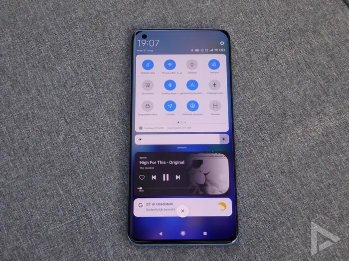 Xiaomi Mi 11 notificaties