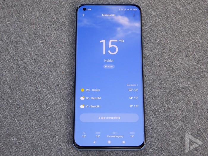 Xiaomi Mi 11 weer