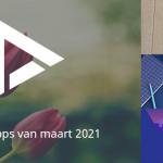 De 5 beste apps van maart 2021 (+ het belangrijkste nieuws)