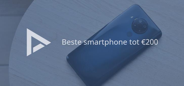 De 8 beste smartphones tot 200 euro (04/2021)