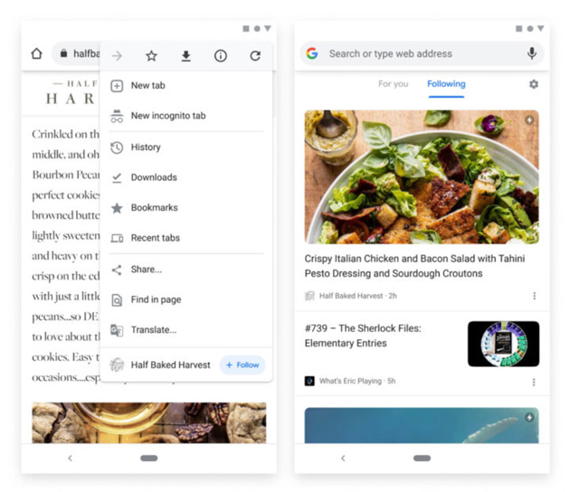 Google Chrome RSS