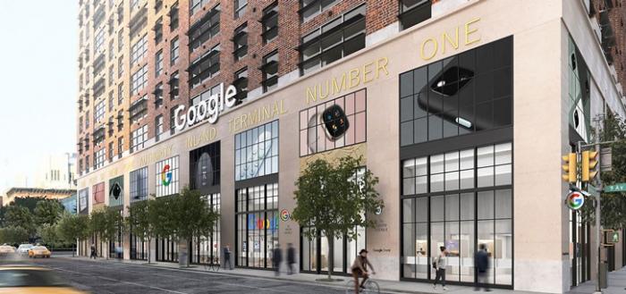 Google maakt plannen bekend voor opening fysieke Google Store