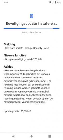 Nokia 5.3 april patch