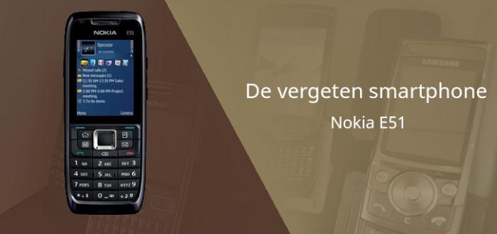 De vergeten smartphone: Nokia E51 uit 2007