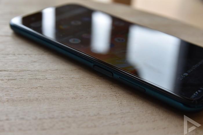 Nokia X20 vingerafdrukscanner