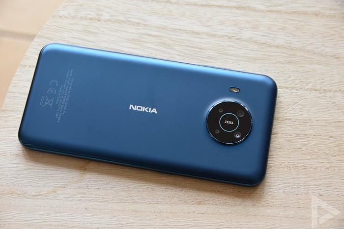 Nokia X20 achterkant