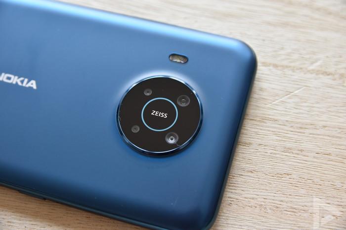 Nokia X20 camera