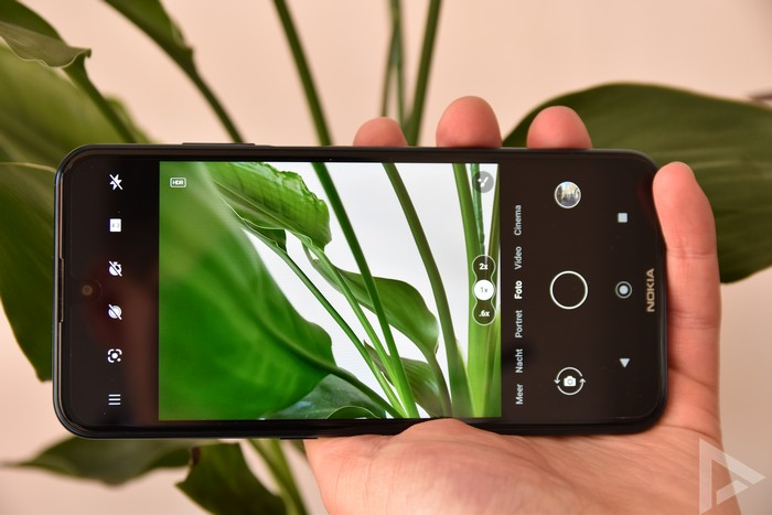 Nokia X20 camera-app