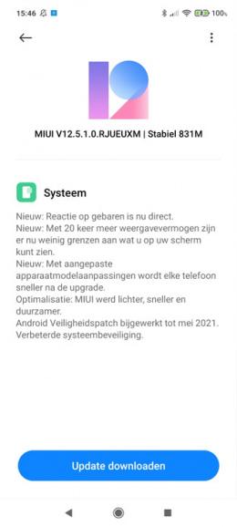 Poco X3 Pro mei update