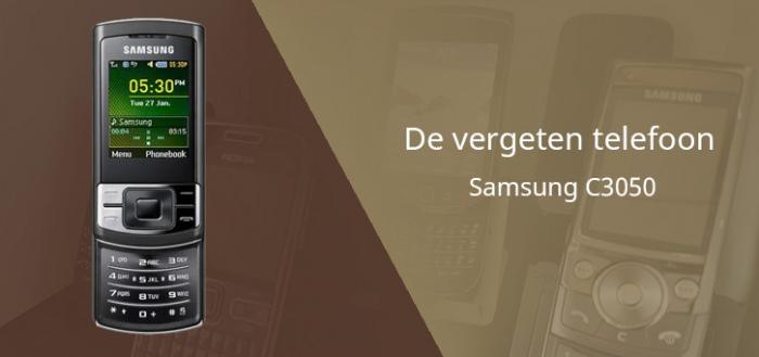 De vergeten telefoon: Samsung C3050 uit 2009