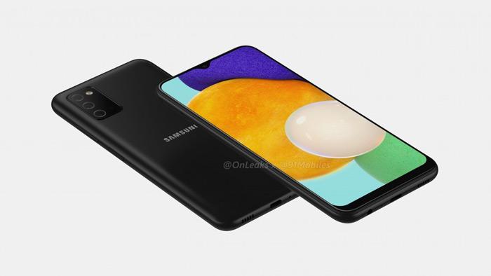 Samsung Galaxy A03s render