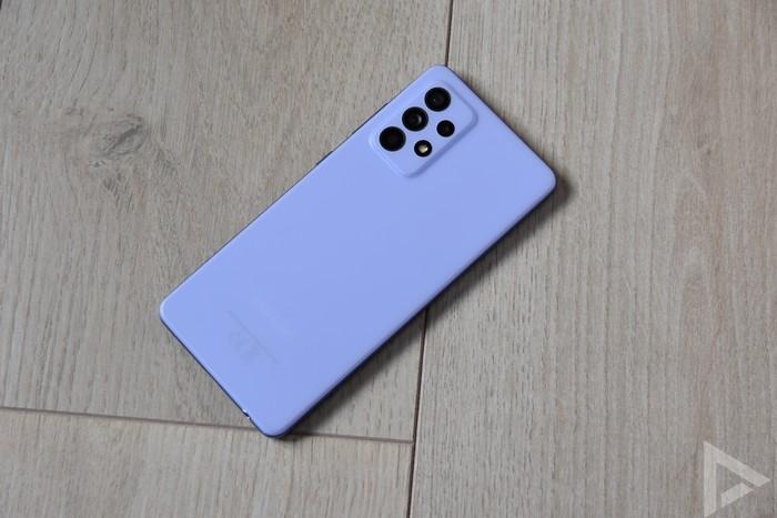 Samsung Galaxy A52 achterkant