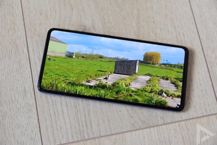 Samsung Galaxy A52 scherm