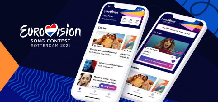 Eurovision Song Contest 2021 app: applaus geven tijdens de uitzending