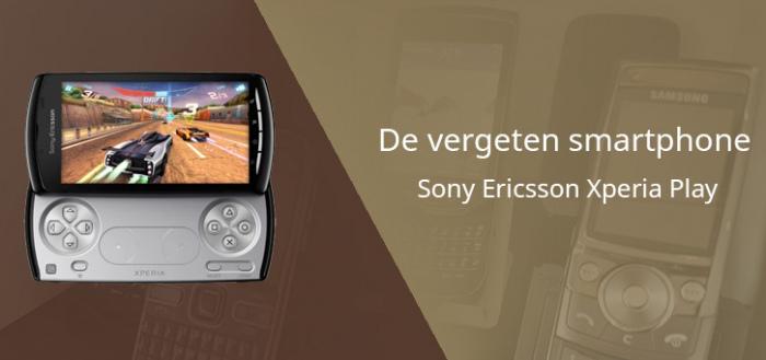 De vergeten gaming-phone EXTRA: Sony Ericsson Xperia Play
