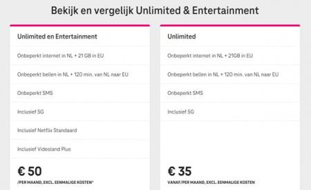 T-Mobile Unlimited Entertainment