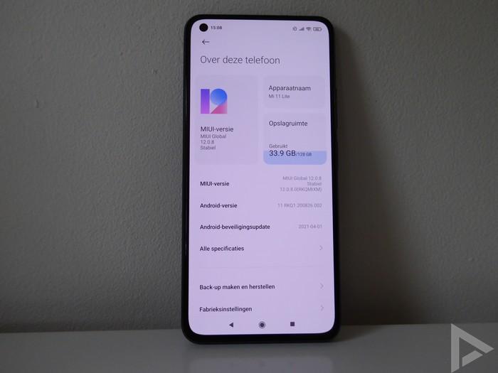 Xiaomi Mi 11 Lite update